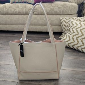 Sale!! Botkier Soho Tote Angora / Rose Gold